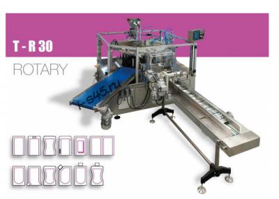 Автомат T-R30 роторного типа для упаковки в дой пак