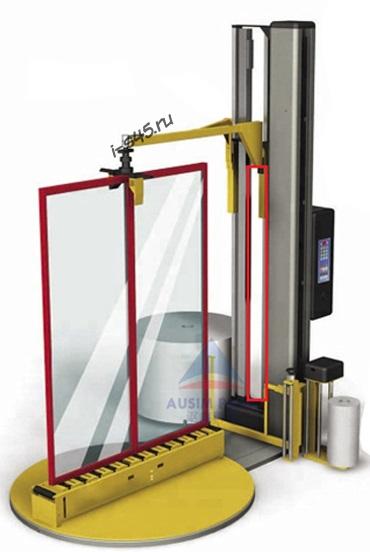 Станок для обмотки стрейч плёнкой дверей и окон купить