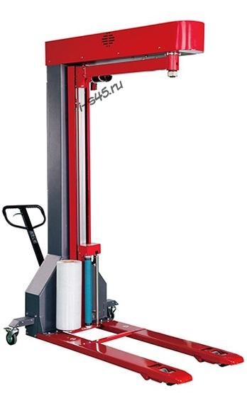 Вилочный обмотчик модель SCR-700A для обмотки паллет стрейч плёнкой купить