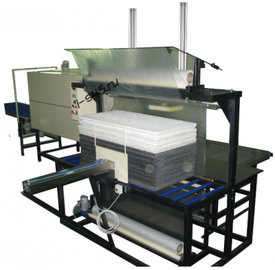 MTU Optima-1200 (полуавтомат) для упаковки пенопласта в термоусадку