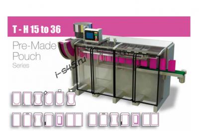 Автомат дой-пак doy pack для упаковки широкого ассортимента жидких и твердых продуктов в готовый пакет