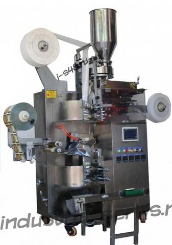 Автомат для фасовки и упаковки чая и лечебных трав в фильтр пакеты с ниткой, ярлыком и наружным пакетом  в %current_city_gde%