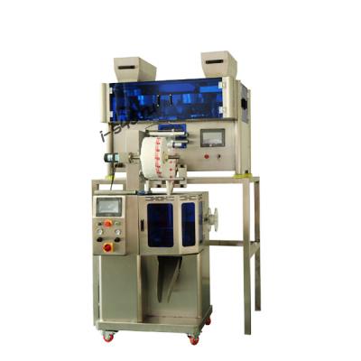 Электронные весы машина для фасовки пирамидальных чайных пакетов KST-160-06