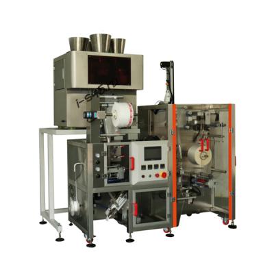FC16 Компактная машина для фасовки пирамидальных чайных пакетов с оболочкой KST-FC16
