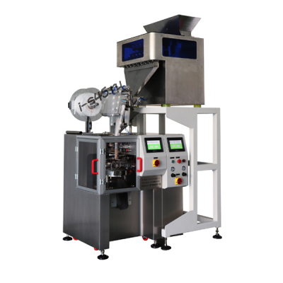 Высокоскоростная машина для фасовки пирамидальных чайных пакетов KST-LX12