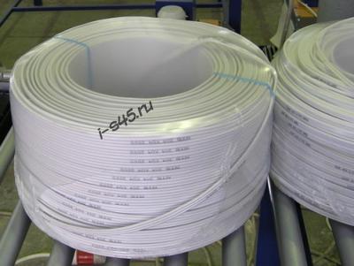 Упаковка бухт кабеля