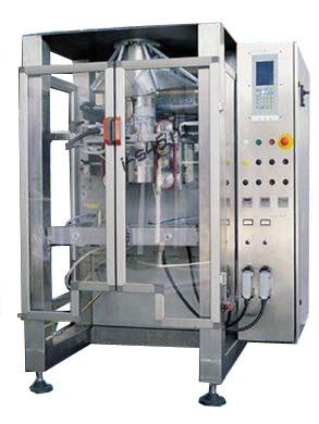 Вертикальная фасовочно-упаковочная машина для наполнения и упаковывания сыпучих продуктов