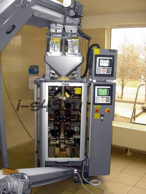 Упаковочная линия с весовым дозатором