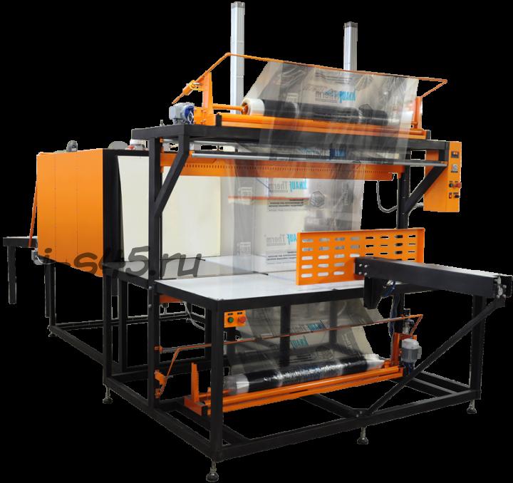 термоусадочное оборудование, термопак, группиратор, автомат упаковки в термоусадочную пленку