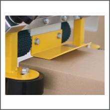 Полуавтоматическое оборудование для сборки и заклеивания скотчем гофрокоробов купить