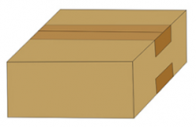 Автомат складывания верха гофрокороба и заклеивания его сверху и снизу модель AS-60A