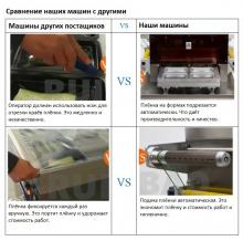 Полуавтоматический запайщик лотков трейсилер модель SKIN-450