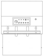 Горизонтальный внешний вакуумный упаковщик напольного исполнения модель DZQ-600/800E для широкого спектра продуктов