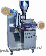 Автомат для фасовки и упаковки чая в одноразовые фильтр пакеты с ниткой, ярлыком ZB-KT60I  в %current_city_gde%